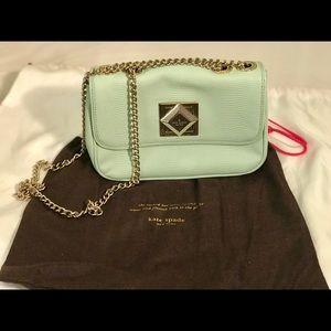 Kate spade gold chain accessory shoulder purse